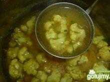 Zupa kalafiorowa na wywarze z kurczaka