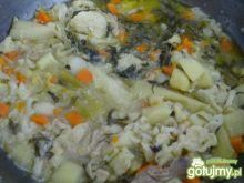 Zupa kalafiorowa po chinsku