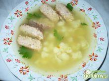 Zupa kalafiorowa z dodatkiem