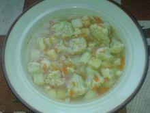 Zupa kalafiorowa z imbirem