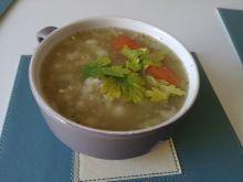 Zupa kalafiorowa z kaszą