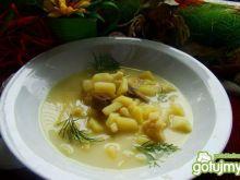 Zupa kalafiorowa z pieczarkami