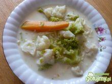 Zupa kalafiorowo brokułowa