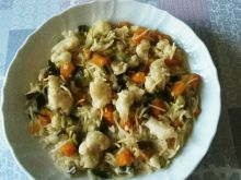 Zupa kalafiorowo - cukiniowa