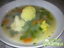 Zupa kalafiorowo-fasolowa