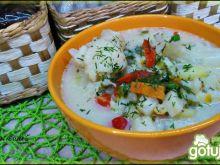 Zupa kalafiorowo paprykowa