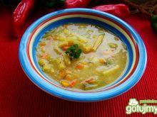 Zupa kapusciana z fasolą szparagową