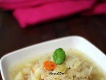 Zupa kapuściana z kminkiem