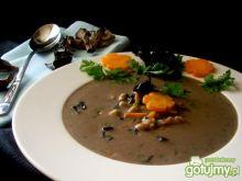 Zupa kominkowa z żytnimi zacierkami
