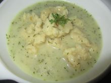Zupa koperkowa z kluseczkami