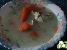 Zupa koperkowa z kurczakiem