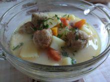 Zupa koperkowa z pulpecikami