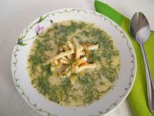 Zupa koperkowa ze szpeclami
