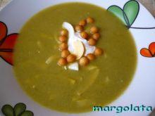 Zupa krem brokułowo-groszkowa