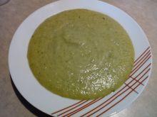 Zupa krem brokułowo - porowy