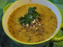 Zupa krem cukiniowo - kalafiorowy
