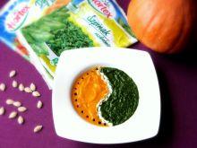 Zupa krem dyniowo-szpinakowa