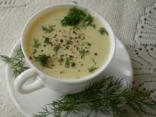 Zupa krem kalafiorowo-serowy :