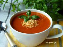 Zupa-krem: marchewka, batat, papryka, soczewica