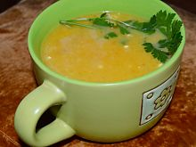 Zupa krem marchewkowo cukiniowy