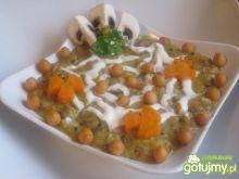Zupa-krem pieczarkowo-jarzynowa