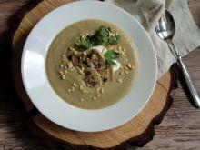 Zupa krem pieczarkowo-orzechowa