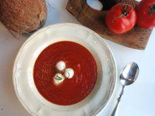 Zupa krem pomidorowo-kokosowa