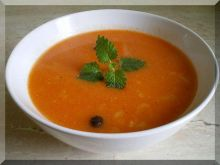 Zupa krem pomidorowo paprykowa