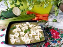 Zupa krem z warzyw podbijany miętą