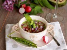 """Zupa krem """" wiosna na talerzu"""""""