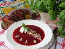 Zupa krem z barszczu ukraińskiego