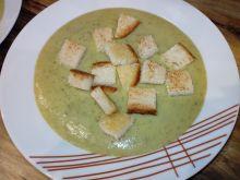 Zupa krem z bobu, z pasternakiem i warzywami