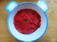 Zupa krem z buraka (dla dziecka)