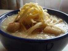 Zupa krem z cebuli i pora