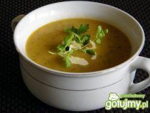 Zupa krem z cukinii z nutką tymianku