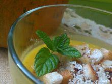 Zupa krem z dyni a słodko