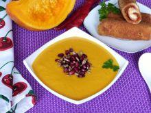 Zupa krem z dyni i batatów