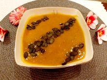 Zupa - krem z dyni z krewetkami