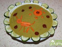 zupa krem z groszku i kalafiora