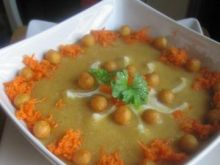 Zupa-krem z kalafiora i marchewki