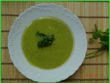 Zupa krem z kalarepy i cukinii