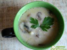 Zupa krem z kurczaka i pieczarek
