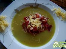 Zupa krem z makaronem z ogonówki