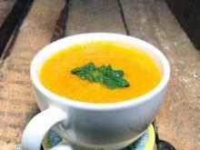 Zupa-krem z marchewki nieco orientalnie