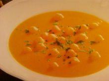 Zupa krem z marchwi ze śmietanką