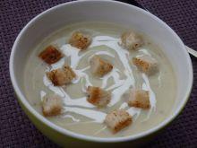 Zupa krem z ogórków kiszonych