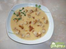 Zupa krem z okrągłego groszku