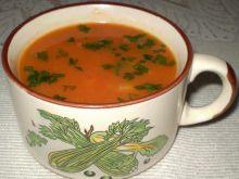 Zupa krem z papryki i cebuli :