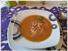 Zupa krem z pieczonej marchewki