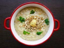 Zupa krem z pieczonych kasztanów